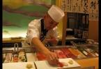 Zábavný sushi bar