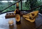 Zasloužený podvečerní relax po celodenní aktivitě...