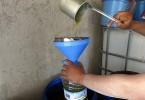 Nákup 5 litrů olivového oleje