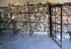 Rozpadající se dokumenty v prastaré portugalské pevnosti