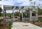 Letištní hala na Ibo Island :-)