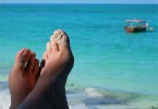 Klídek na pláži