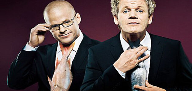 Zažít večer v restauraci Gordon Ramsay a Dinner by Heston
