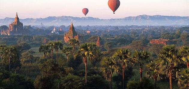Barma – Myanmar – z chrámu do chrámu